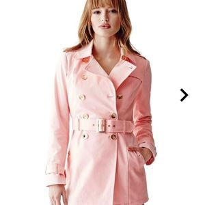 Guess Pink Trench